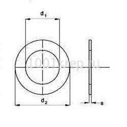 DIN 125/ ГОСТ 11371 Шайба плоская, класс прочности А